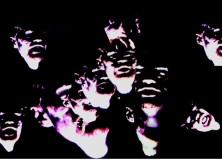 "A Still Image of Ghost Heads from ""Powerful Magics"""