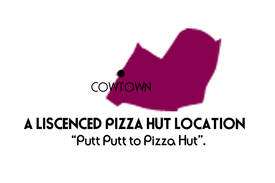 A Liscenced Pizza Hut Location