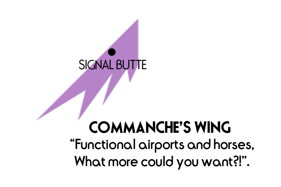 Commanche's Wing